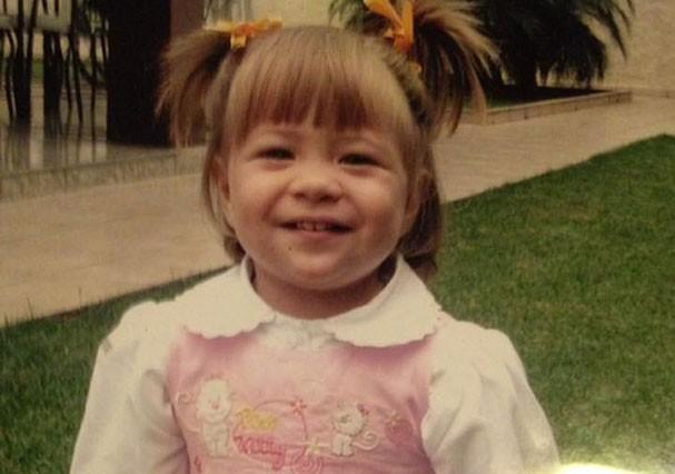 A netinha de Marilda, Alanis, de 2 anos (Foto: Reprodução/Facebook)