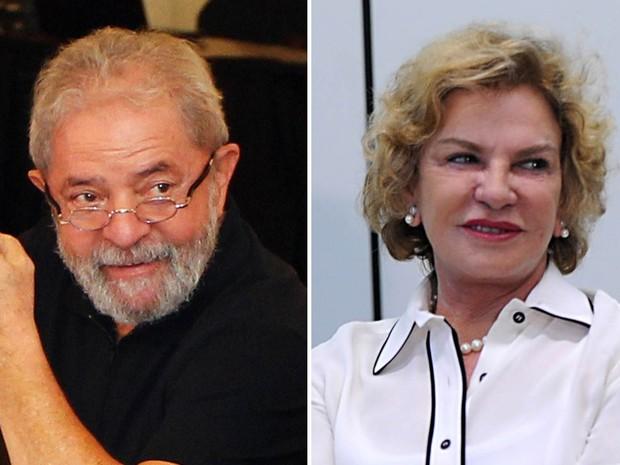 O ex-presidente Luiz Inácio Lula da Silva e a ex-primeira-dama, Marisa Letícia (Foto: Sérgio Castro/Estadão Conteúdo; Fabio Rodrigues Pozzebom/Agência Brasil/Arquivo)