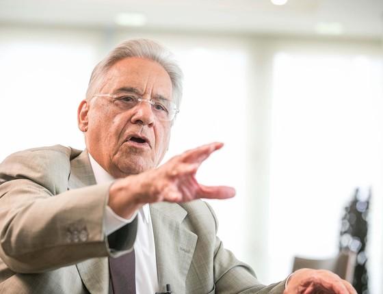Fernando Henrique Cardoso, no Instituto FHC (Foto: Arquivo/Reinaldo Canato/UOL/Folhapress)