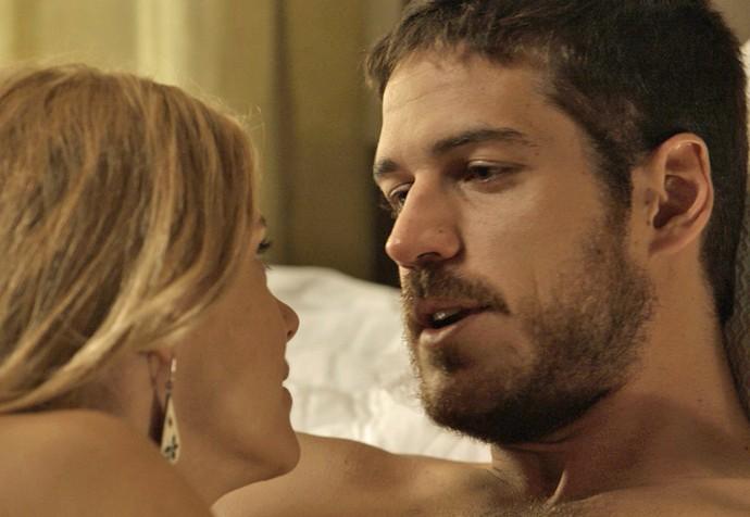 Dante se declara para Lara (Foto: TV Globo)