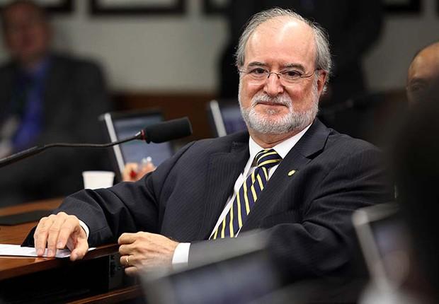 O ex-governador de Minas Gerais, Eduardo Azeredo (Foto: Saulo Cruz/Câmara dos Deputados)
