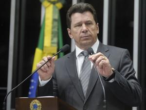 O senador Ivo Cassol (PP-RO), em discurso no plenário nesta quarta (Foto: Moreira Mariz/Ag.Senado)