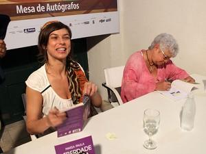 Humor sob o olhar feminino encerra a programação da Flica 2012 (Foto: Ida Sandes/ G1)