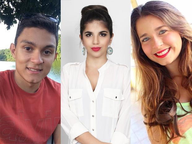 Matheus Vieira, , Natalia Soutto e Amanda Ribeiro  (Foto: Acervo Pessoal)