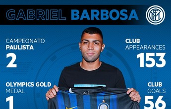 Oficial: Internazionale anuncia contratação de Gabigol até 2021