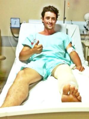 Fael se recupera de acidente, mas não tem previsão de alta (Foto: Valdeci Ferreira/Assessoria)