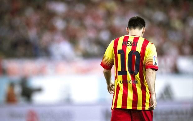 Messi Atlético de Madri e Barcelona (Foto: Agência EFE)