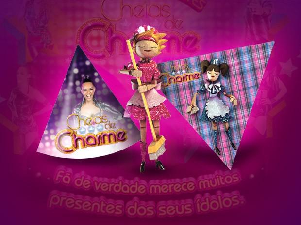 Kit festa (Foto: Cheias de Charme/TV Globo)