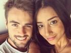 Ex-BBB Talita Araújo publica celular do namorado no Twitter e se irrita com fãs