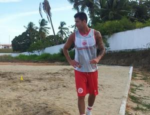 Atacante Renan Marques se apresenta ao América-RN (Foto: Antonio Netto/Inter TV Cabugi)