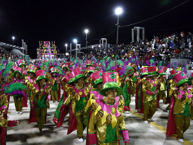 Escola de Samba Restinga será uma das atrações da Fan Fest (Foto: Evandro Oliveira /PMPA)
