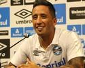 """Barrios se vê """"mais forte"""" após lesão e supera """"mês difícil"""" com gol no Grêmio"""