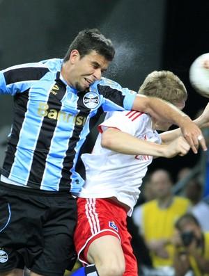 André Lima marca gol na inauguração da Arena do Grêmio (Foto: Wesley Santos/Divulgação, Grêmio)