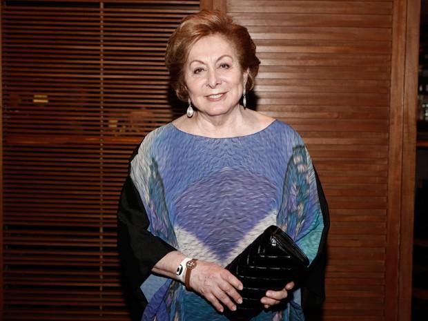 Aracy Balabanian chegou toda elegante (Foto: Inácio Moraes/Gshow)