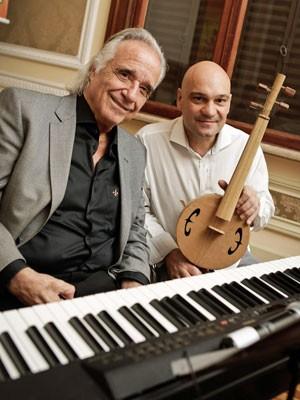 Maestro João Carlos Martins e Fernardo Sardo (Foto: Divulgação)