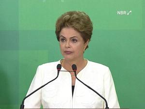 Dilma Rousseff (Foto: GloboNews)