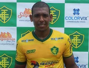 Atacante Lambiru, do Tupy-ES (Foto: João Brito/GloboEsporte.com)
