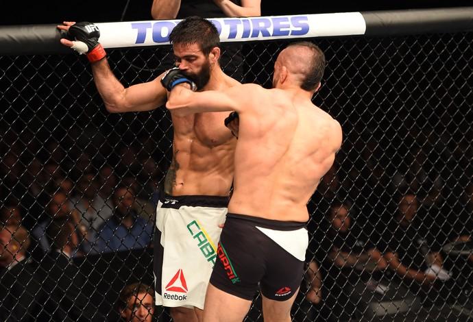 Reza Madadi Yan Cabral UFC Holanda (Foto: Getty Images)