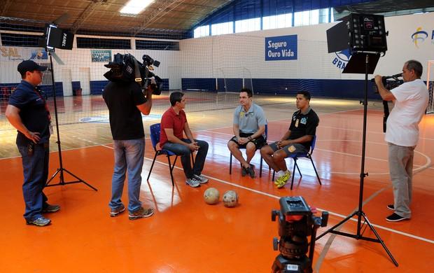 entrevista tobias falcão futsal reconciliação (Foto: Divulgação)