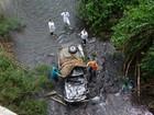 Casal morre após carro cair de ponte entre Vale Real e Caxias do Sul, no RS