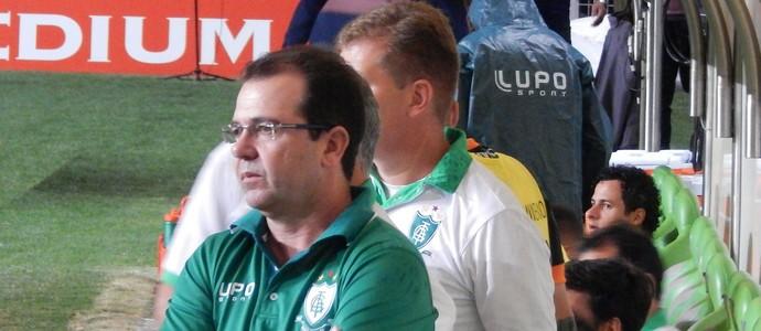 Enderson Moreira, técnico do América-MG (Foto: Mourão Panda/ América-MG)