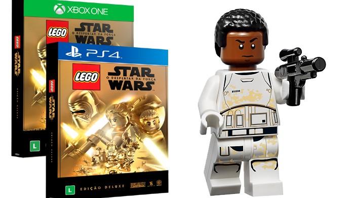 LEGO Star Wars: O Despertar da Força ganha edição deluxe limitada com minifigura de Finn (Foto: Divulgação/Warner Bros.)