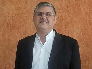 Bispo diocesano de Uberlândia, dom Paulo Francisco Machado (Foto: Caroline Aleixo/G1)