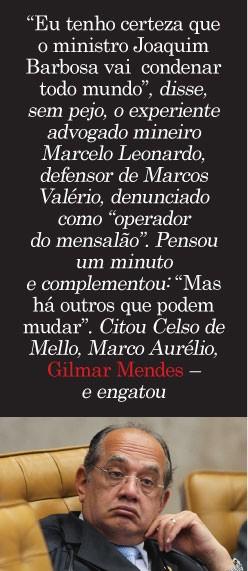 Gilmar Mendes (Foto: Alan Marques/Folhapress)