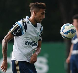 Rafael Marques Palmeiras treino (Foto: Cesar Greco/Ag Palmeiras/Divulgação)