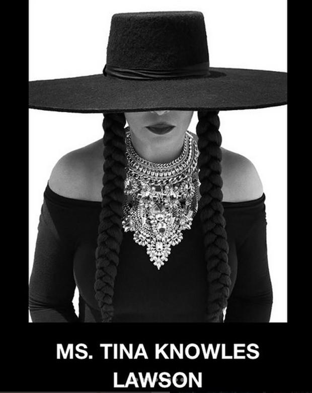 Tina Knowles Lawson homenageia Beyoncé (Foto: Reprodução / Instagram)