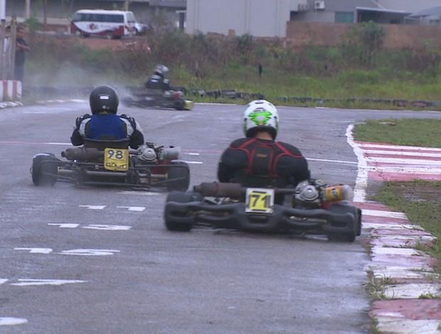 7º etapa do municipal de kart (Foto: Reprodução/TV Rondônia)
