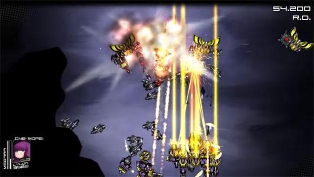 Em 'Da wolves', jogador coleta armas deixadas pelas naves inimigas (Foto: Divulgação)