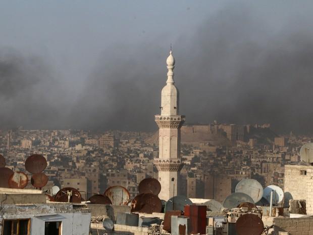 Aleppo é controlada por rebeldes desde 2012 (Foto: Reuters/Abdalrhman Ismail)
