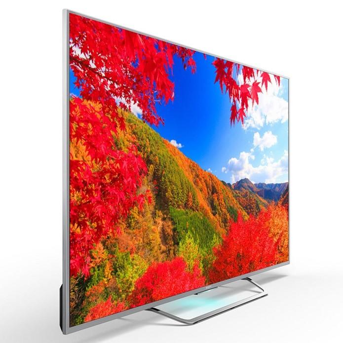 Smart TV da Sony possui sistema operacional Android (Foto: Divulgação/Sony)