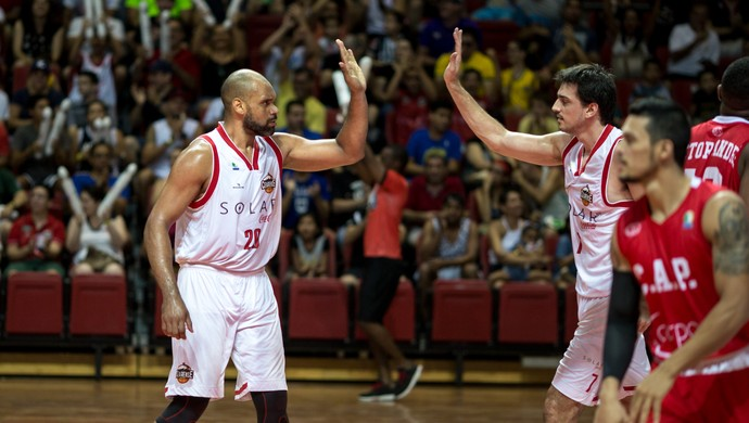 Basquete Cearense x Paulistano playoffs nbb 2017 basquete (Foto: Stephan Eilert/Divulgação)