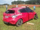 Motorista fica ferida em acidente na rodovia de Jaú