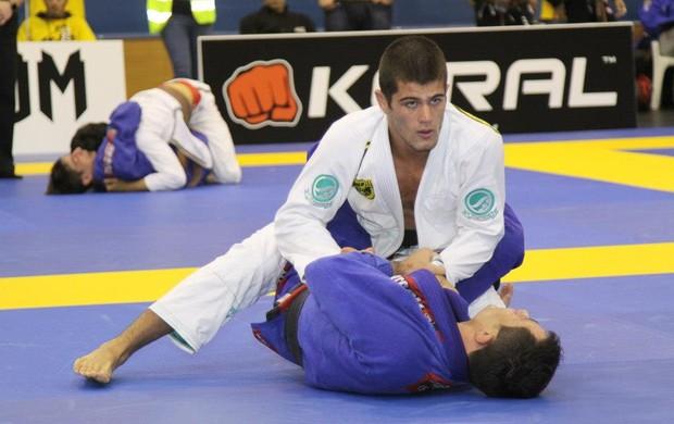 Gabriel Marangoni disputou o European Open (Foto: Reprodução)