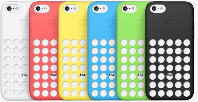 Case da Apple é disponível em várias cores (Foto: Divulgação)