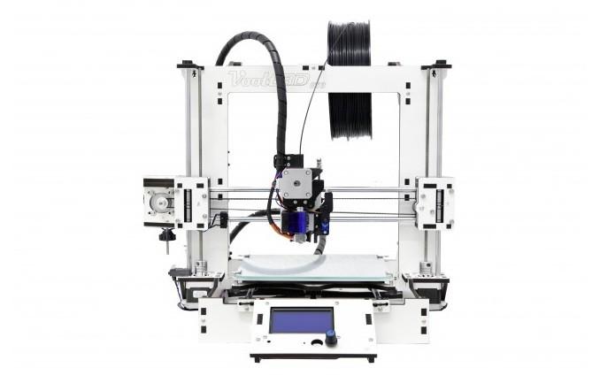 Modelo da Voolt 3D conta com área de impressão em vidro (Foto: Divulgação/Voolt 3D)