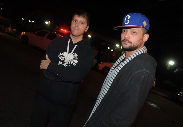 Daniel Zukerman e Eduardo Sterblitch (Foto: Francisco Cepeda/AgNews)