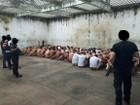 Polícia isola quadras de presídios de RO para fazer revista em celas