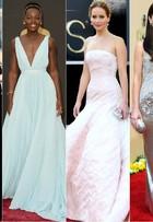 Relembre famosas mais bem-vestidas nas últimas dez edições do Oscar