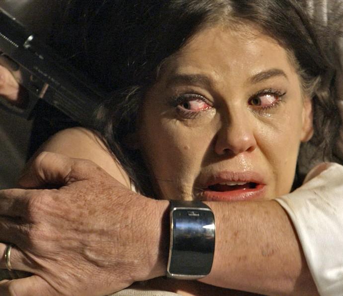 O que será que vai acontecer com Nelita? (Foto: TV Globo)