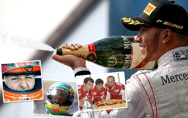 chamada Pacotão Fórmula 1 GP da Hungria (Foto: Editoria de Arte / Globoesporte.com)