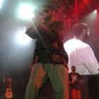 Emicida elogia disco do Bloco da Saudade antes de show (Luna Markman / G1)