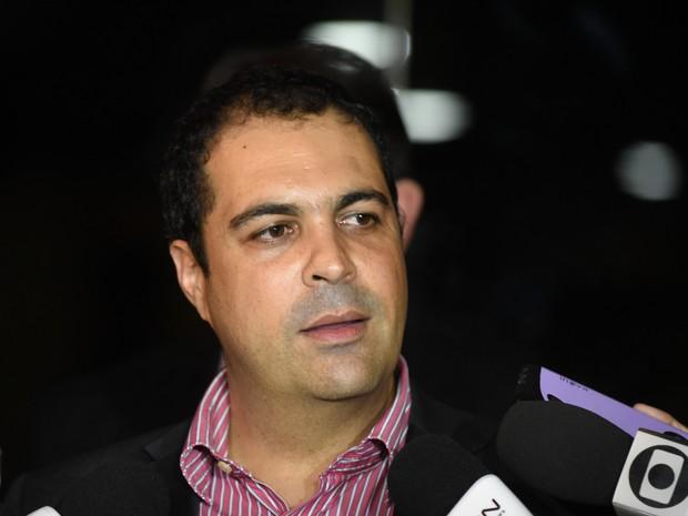 Secretário de Direitos Humanos do Espírito Santo, Júlio Pompeu (Foto: Fernando Madeira/ A Gazeta)