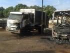 Veículos pegam fogo em garagem da Prefeitura de Lagoa da Prata