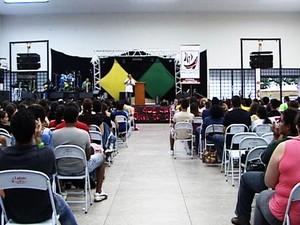 Rebanhão reúne jovens no período de Carnaval (Foto: Reprodução/TV Fronteira)