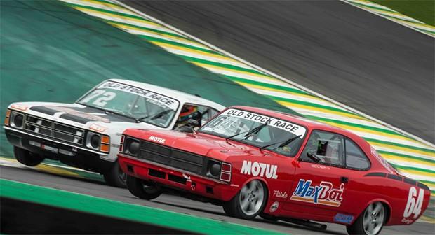 A Old Stock Race em Interlagos, no seu ano de estréia 2015 (Foto: Divulgação/Andre Lemes)