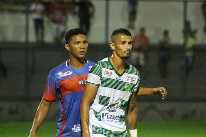 Piauí x Altos - Manoel (Foto: Renan Morais )